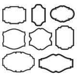 Set of frames Vector Illustration