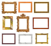 Set of frames Stock Image