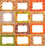 Set of frames. Stock Images