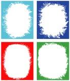 Set of frames for design. Stock Photography