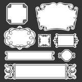 Set of frames Stock Images