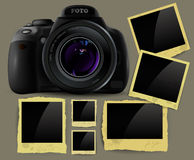 Set of frames Stock Photography