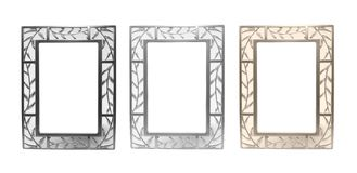 Set of frames for photos Royalty Free Stock Photography