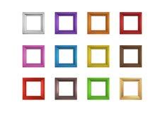 Set Of Frames Render Royalty Free Stock Image