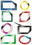 Set frames - vector Stock Images