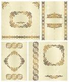 Set of frames Royalty Free Stock Photo