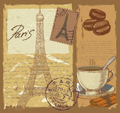 Set of france Royalty Free Stock Images