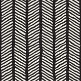 SET 50 Freehand Shapes Pattern 1 invert. Hand drawn style seamless pattern. Abstract geometric tiling background in black and white. Vector stylish doodle line Royalty Free Stock Photo
