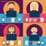 Set freelance kariera ilustracji