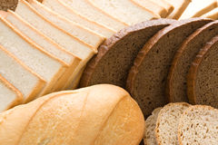 Set of fresh bread Royalty Free Stock Photo