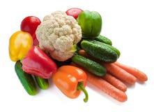 Set of fresh vegetables Royalty Free Stock Photo
