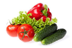 Set fresh vegetables Royalty Free Stock Photography