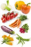 Set of fresh vegetables Stock Photo