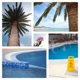 Set From Photos Illustrating Tourism Royalty Free Stock Image