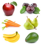 Set fruit Stock Photography