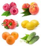 Set fruit royalty free stock photos