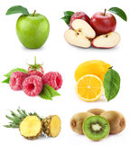 Set fruit Royalty Free Stock Photos