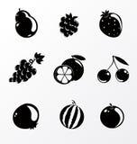 Set of fruit Royalty Free Stock Photography