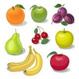 Set fruit Stock Image
