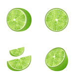 Set of Fruit Lime Stock Images