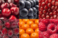 Set from fruit Royalty Free Stock Photography