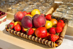 A set of fruits Stock Photography