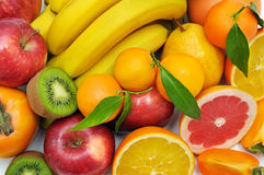 set of fruits Stock Image