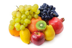 Set of fruits Royalty Free Stock Photos