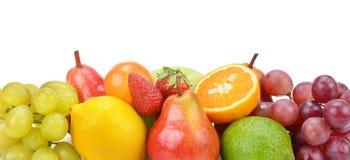 Set of fruits Royalty Free Stock Image