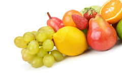 Set of fruits Stock Photography