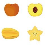 Set Of Fruits Isolated On White Background Royalty Free Stock Photo
