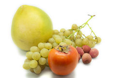 Set fruits Stock Images