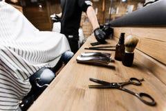 Set fryzjer fotografia royalty free