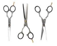 Set fryzjerstwo nożyce Fotografia Royalty Free