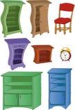 Set furniture Royalty Free Stock Image