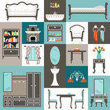 Set furniture. Stock Photography