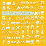 Set of game icons Stock Photography