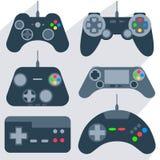 Set gamepad icons Royalty Free Stock Image