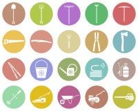 Set of garden tool. Garden tool icon. Stock Photos