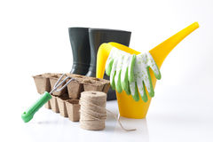 Set of garden tools Stock Images