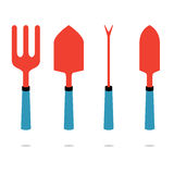 Set Of Gardening Tool Royalty Free Stock Photo