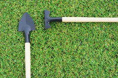 Set gardening tools Royalty Free Stock Images