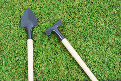 Set gardening tools Stock Image