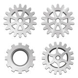 Set of gear Royalty Free Stock Photo