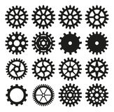 Set of gear Royalty Free Stock Images