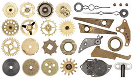 Set gear, cogwheels, isolated Royalty Free Stock Image