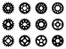 Set of gear wheel icons. illustration vector Stock Photo
