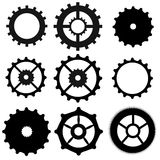 Set of gear wheels Stock Image