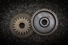 Set of gears Stock Photos