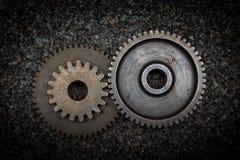 Set of gears Stock Photos